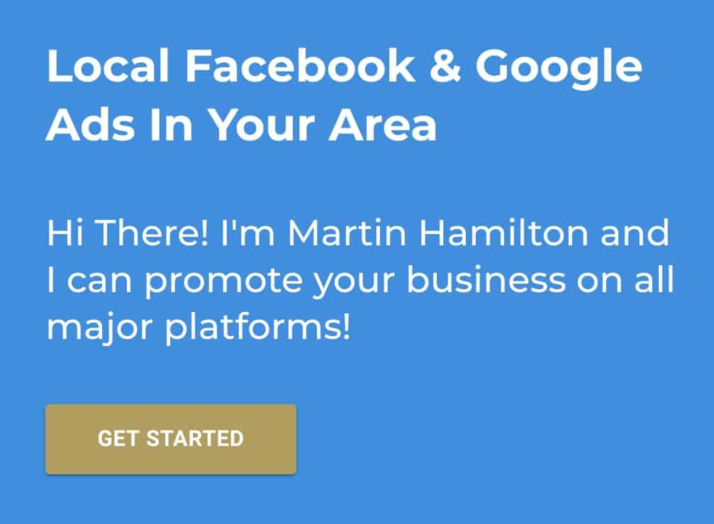 Local Facebook and Google Ads In Your Area